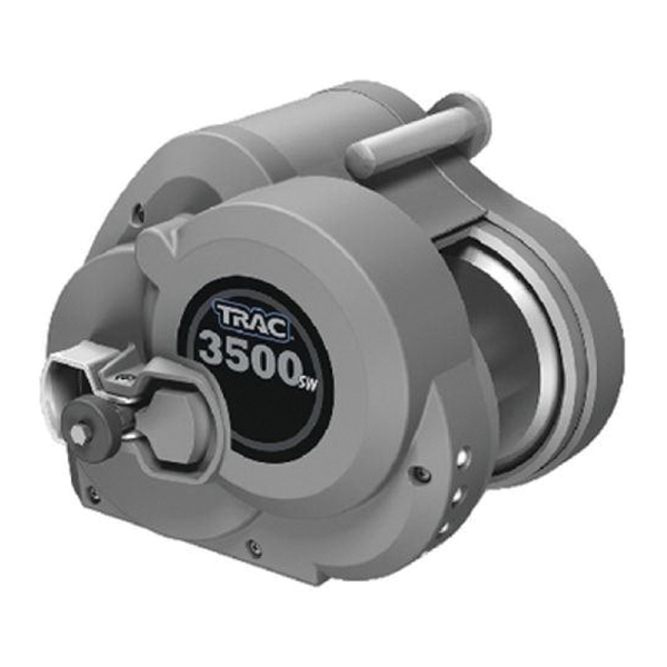 Trac Outdoor Products Electric Trailer Winch Sw With Cable