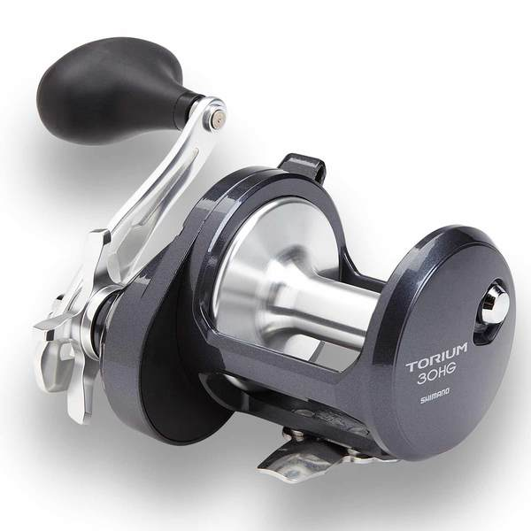 Shimano torium 30 hgal left hand conventional reel west for Left handed fishing reels