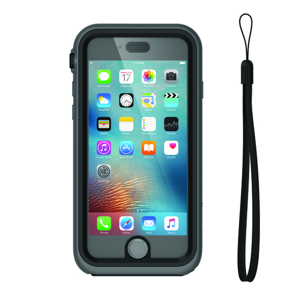 buy online 7bdb7 73e68 Waterproof Case for iPhone 6S, Black and Space Gray