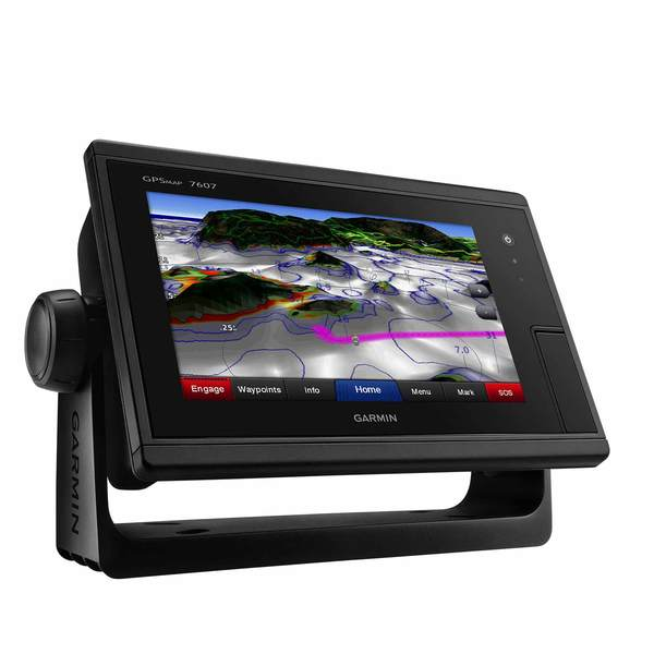 GPSMAP 7607 Multifunction Display with U S  BlueChart g2 and LakeVu HD  Charts