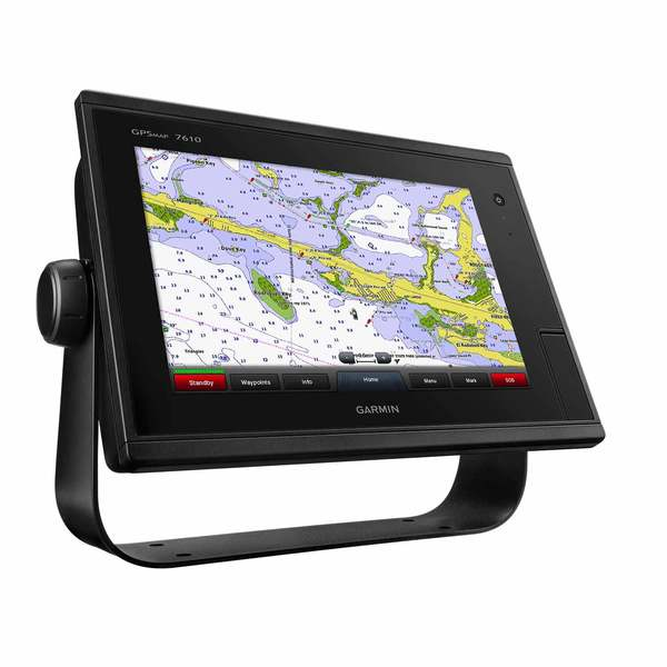 Garmin GPSMAP 7610 Multifunction Display with U.S. BlueChart g2 and LakeVu HD Charts