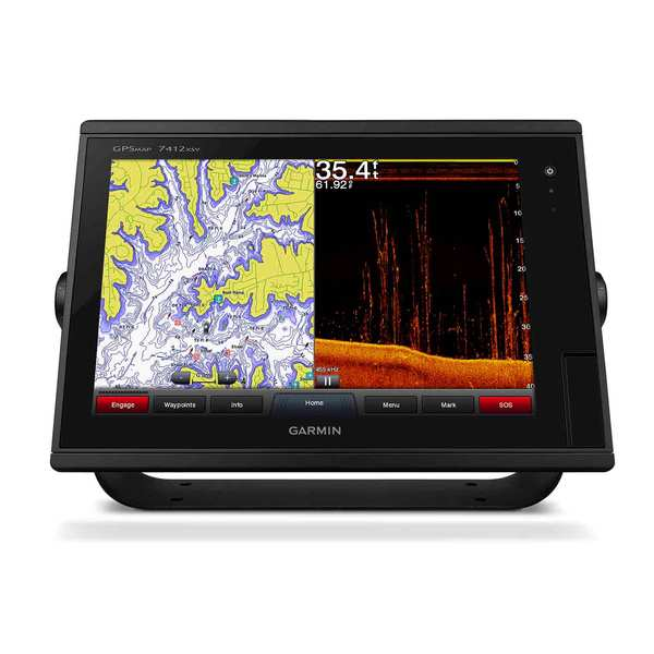 Garmin gpsmap 7412xsv multifunction display with for West marine fish finders