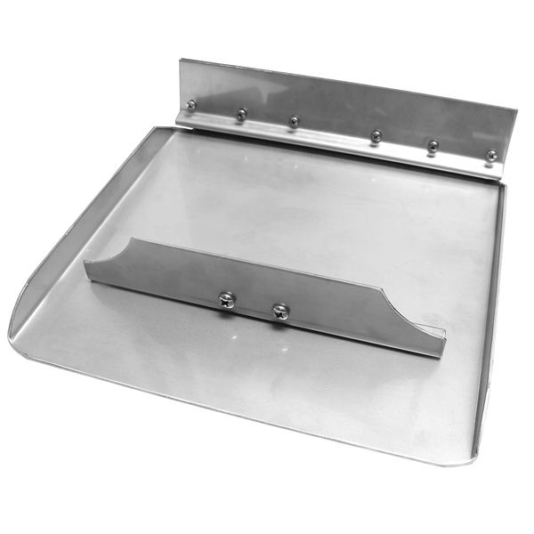 "Trim Plane Assembly, 12"" x 12"" Standard, Fits boats: 19' - 24', Boat Type: I/O (with limited transom space)"