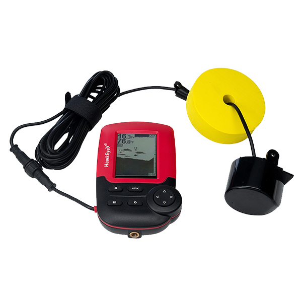 HawkEye® FishTrax™ 1X Dot Matrix Fishfinder