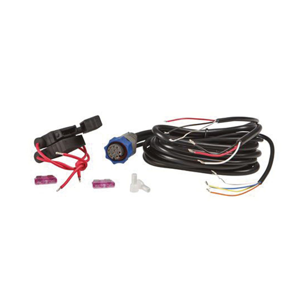 lowrance pc 26bl power cable with blue connector west marine rh westmarine com