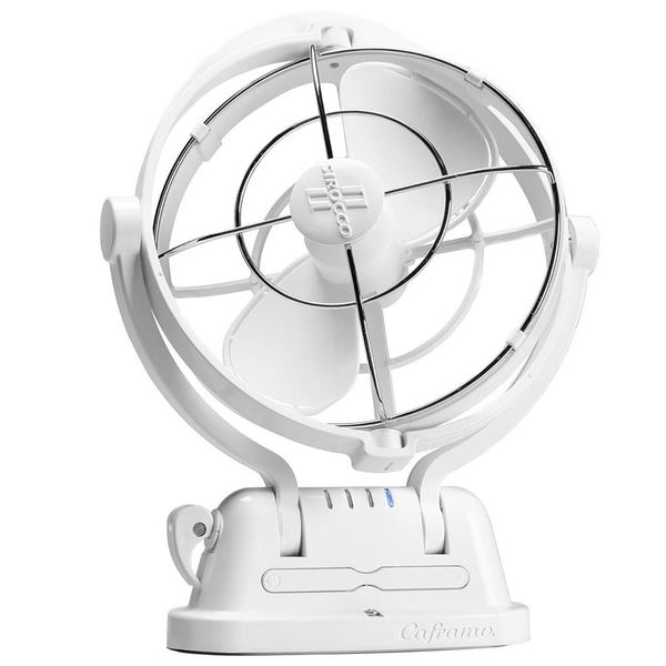Caframo Sirocco Ii Cabin Fan Multi Position White West