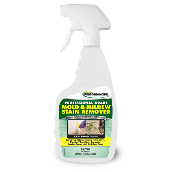 Professional Grade Mold & Mildew Stain Remover, 32 oz.