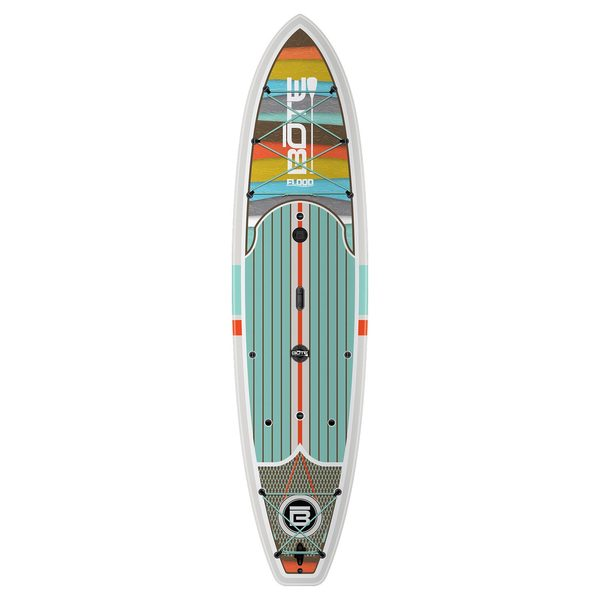 Bote 10 39 6 flood native stand up paddleboard west marine for Bote paddle board with motor