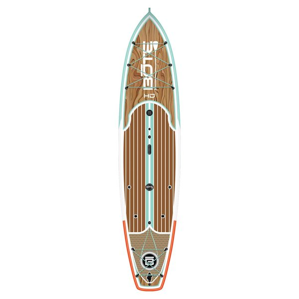 Bote 12 39 hd classic stand up paddleboard west marine for Bote paddle board with motor