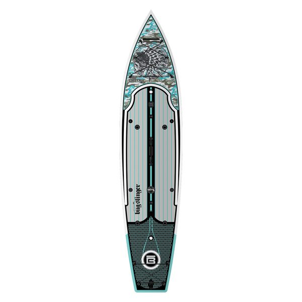 Bote 12 39 rackham bugslinger stand up paddleboard west marine for Bote paddle board with motor