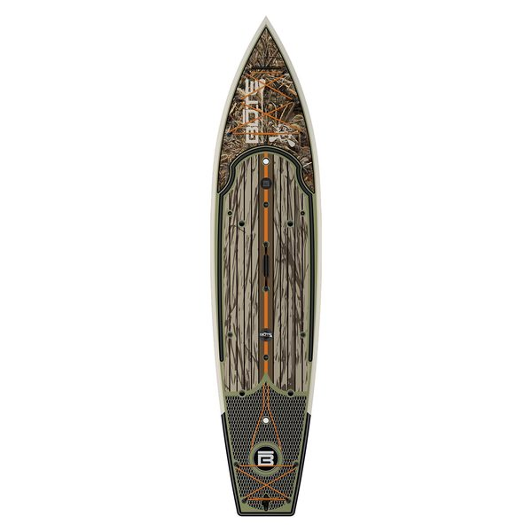 Bote 12 39 rackham realtree stand up paddleboard west marine for Bote paddle board with motor