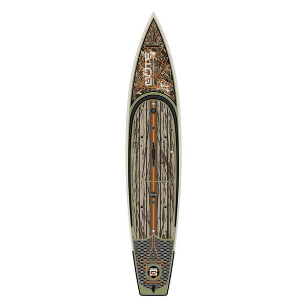 Bote 14 39 rackham realtree stand up paddleboard west marine for Bote paddle board with motor