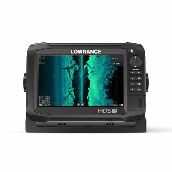 HDS-7 Carbon Multifunction Display with TotalScan Transducer and Insight  PRO Charts