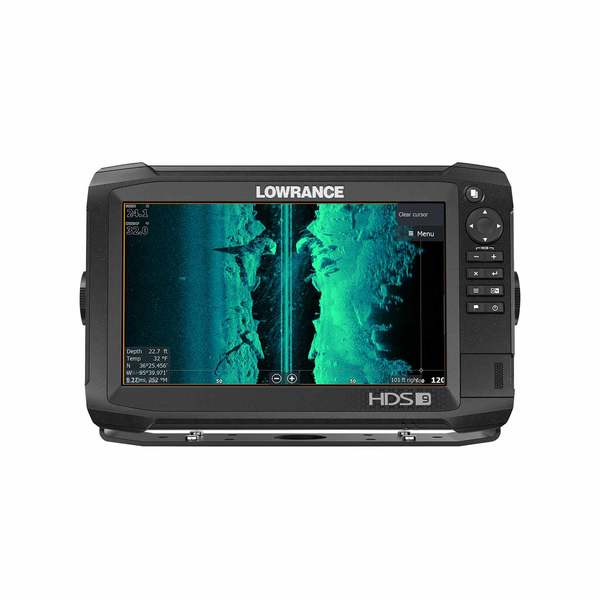 HDS-9 Carbon Multifunction Display with TotalScan Transducer and Insight  PRO Charts