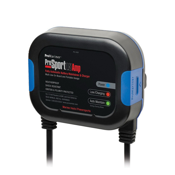Fully Automatic 1.5-Amp Battery Maintainer and Charger