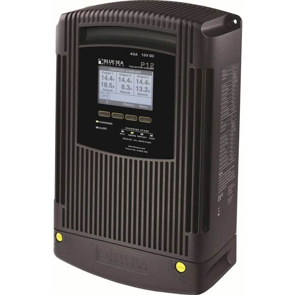 P12 Battery Charger Gen 2, 12VDC, 40A
