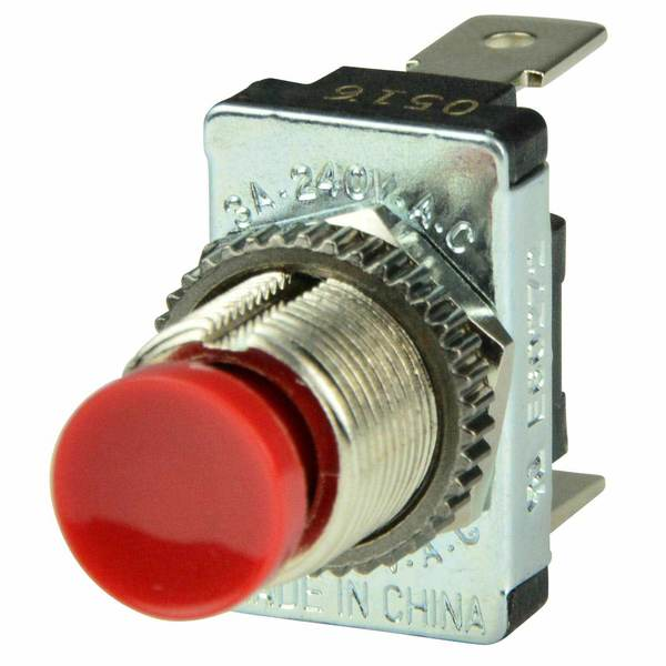 BEP MARINE Momentary Contact Switch, Off/(On), SPST | West Marine