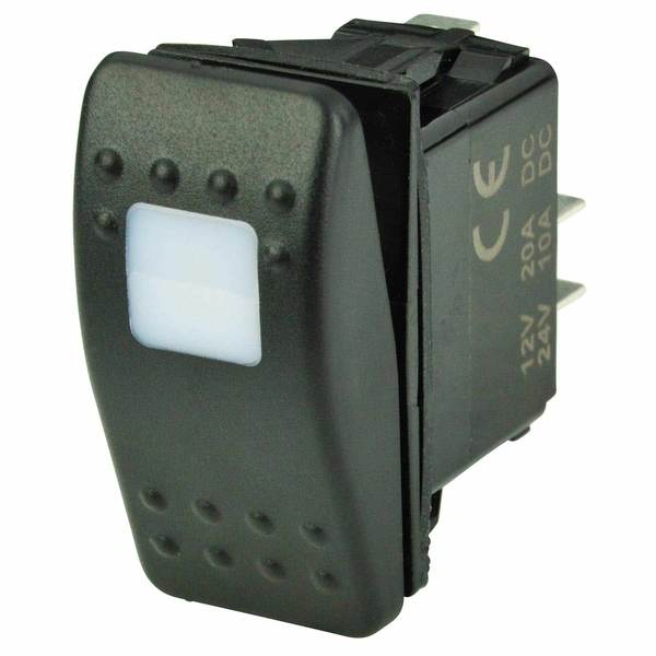 Contura Switch, One LED, Off/On, SPST