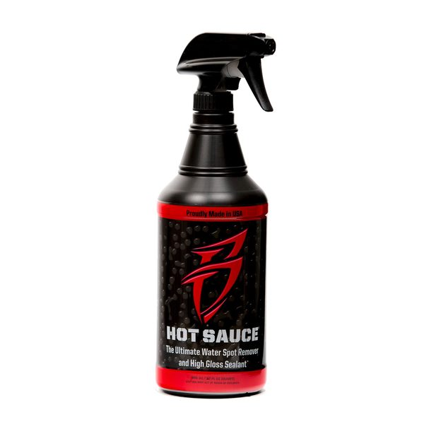 Hot Sauce Water Spot Remover with Gloss Sealants
