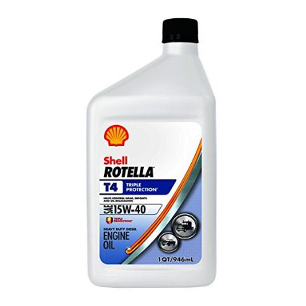 shell 15w 40 rotella t4 triple protection motor oil quart west marine. Black Bedroom Furniture Sets. Home Design Ideas