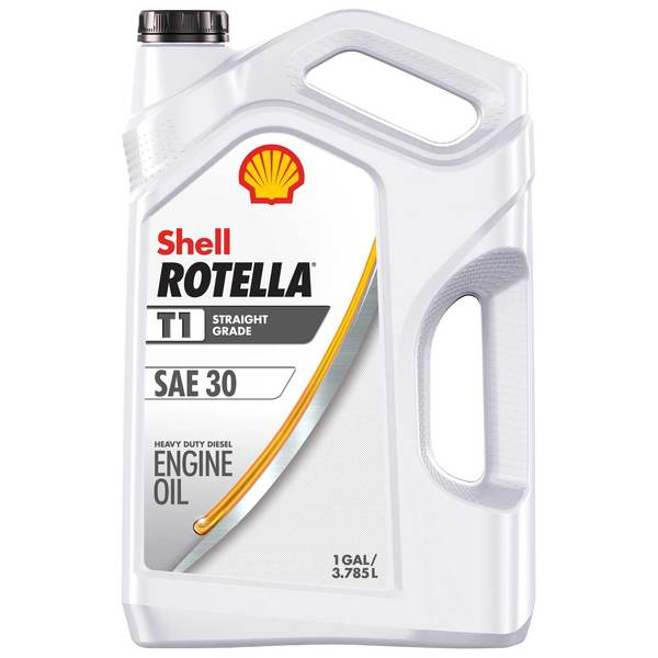 Shell 30w T1 Rotella Diesel 30w Engine Oil Gallon West Marine