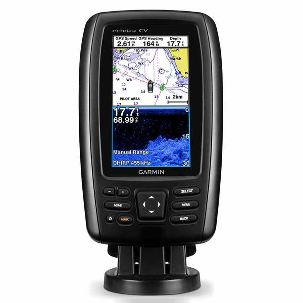 Garmin echomap chirp 44cv fishfinderchartplotter combo with echomap chirp 44cv fishfinderchartplotter combo with clearv transducer and coastal charts enlarged view of picture fandeluxe Gallery