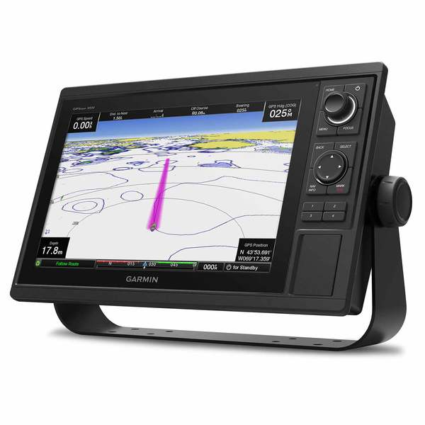 GPSMAP 1242xsv Multifunction Display with BlueChart g3 and LakeVu HD Charts
