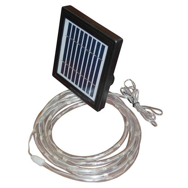 Solar Power LED Rope Light