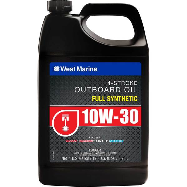 Premium 10W-30 4-Stroke Full Synthetic Engine Oil, Gallon