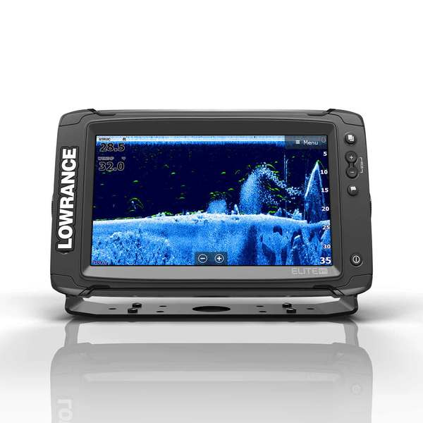 Elite-9 Ti Fishfinder/Chartplotter Combo with TotalScan™ Transducer and  C-Map Insight Pro charts