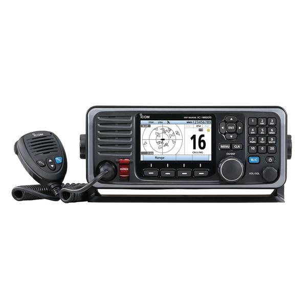 M605 Fixed-Mount VHF Radio with GPS and AIS Receiver