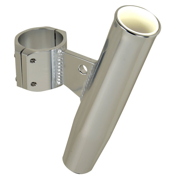 "Aluminum Vertical Clamp-On Rod Holder, Fits 1.90"" Measured Outside Diameter"