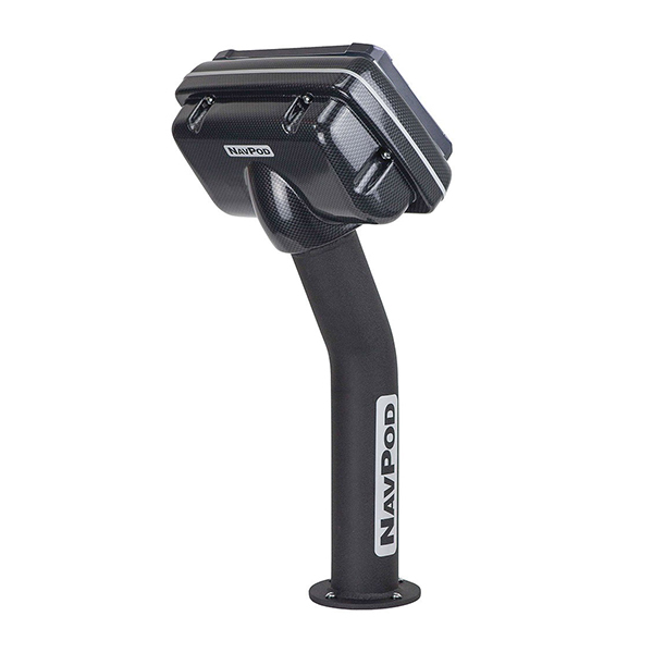 Carbon Black PedestalPod Precut for Garmin 7407, 7407xsv, 7607 and 7607xsv