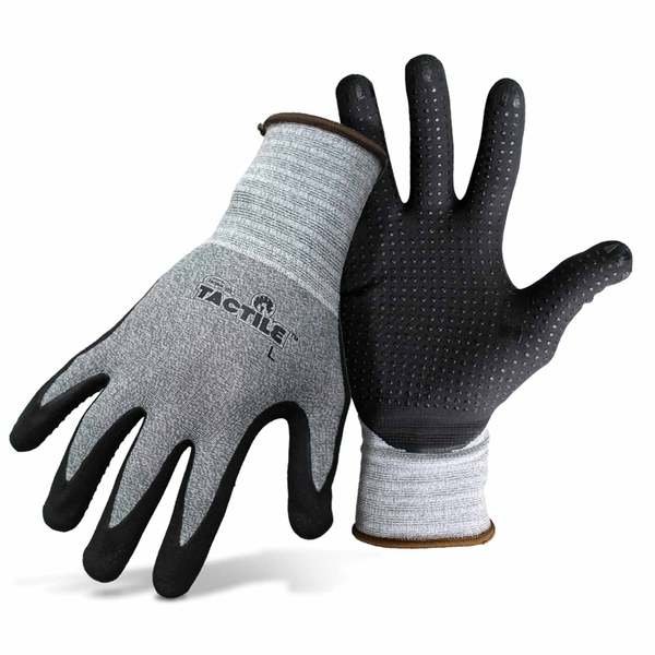 Boss Tactile Dotted and Dipped Gloves, X-Large Multi