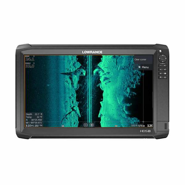 Lowrance HDS 16 carbone COVER