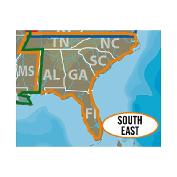 South East U.S. C-MAP Lake Insight HD microSD/SD Card