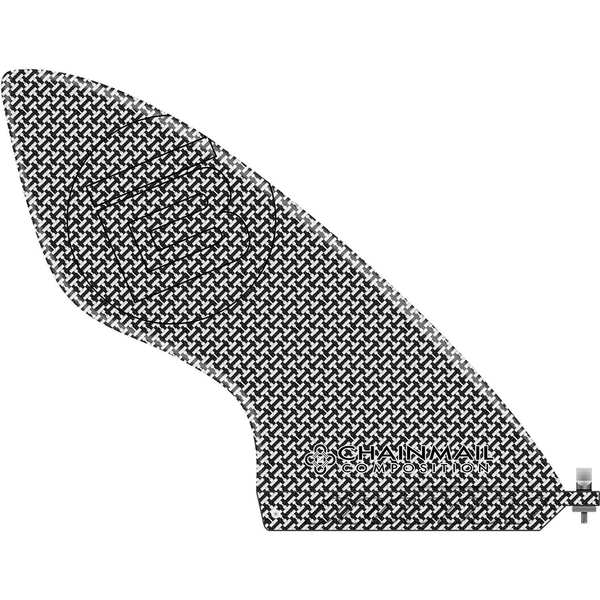"9 1/4"" Chainmail High Performance Stand-Up Paddleboard Fin"