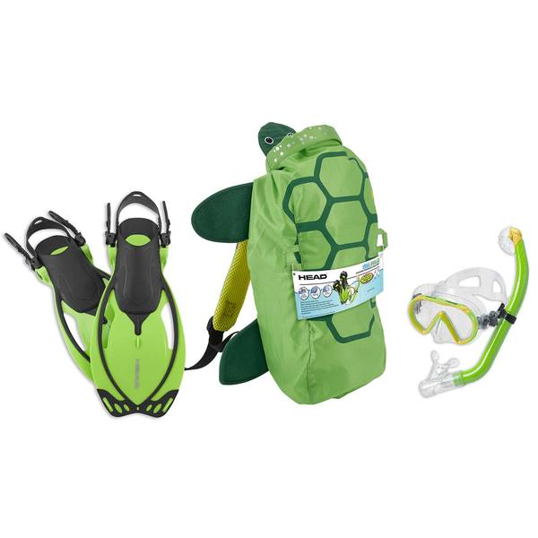 Sea Pals Turtle Themed Junior Snorkel Set, Large/X-Large