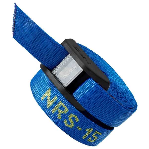 15' Cam Strap with Buckle Bumper, Pair
