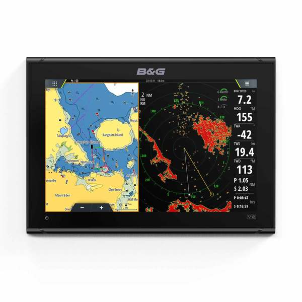 Vulcan 12 Sailing Chartplotter with GPS and WiFi