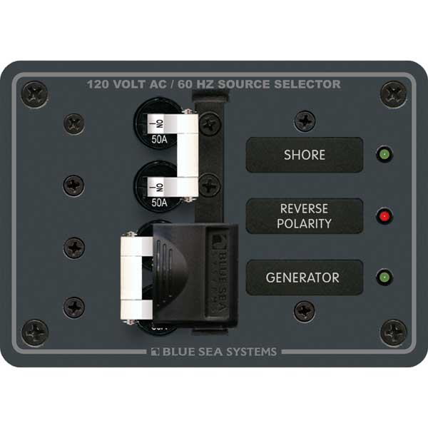 120V AC 50A Toggle Source Selector