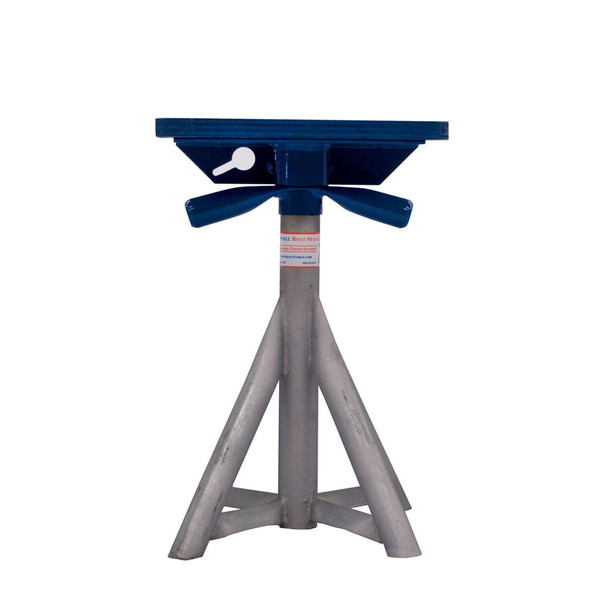 Brownell boat stands motorboat stand 18 25 hot dip for Large outboard motor stand