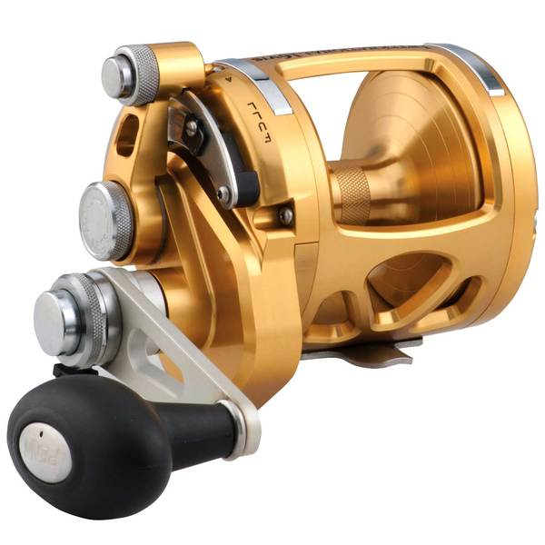 International® 16VIS 2-Speed Conventional Reel, Gold