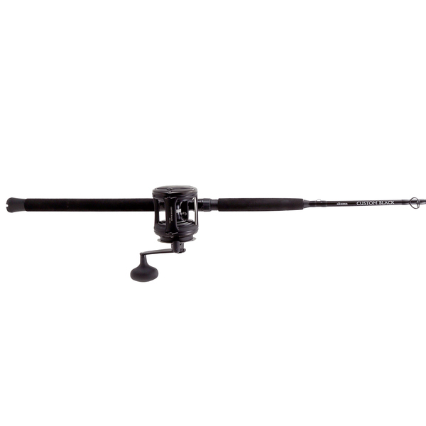 "6'6"" Custom Black Series Offshore Conventional Combo, Size 20 Reel"
