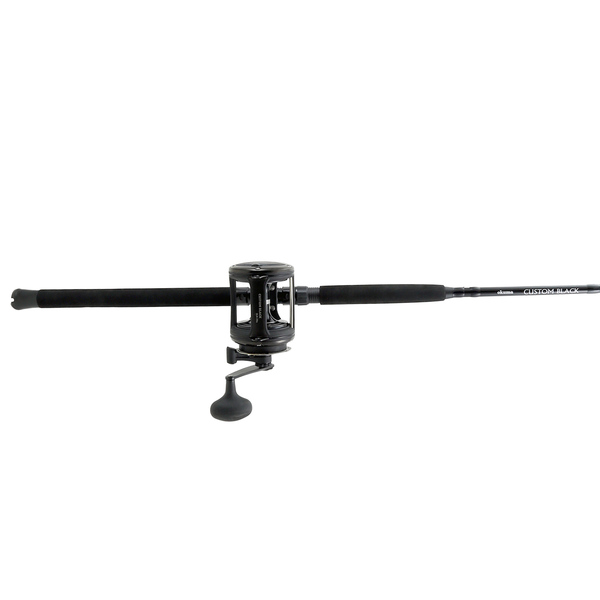 6' Custom Black Series Offshore Conventional Combo, Size 30 Reel