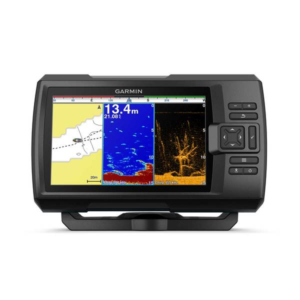 Striker Plus 9sv Fishfinder with CV52HW-TM Transducer