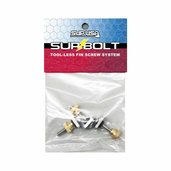 Tool-Less SUP Fin Screw System, 3 Piece