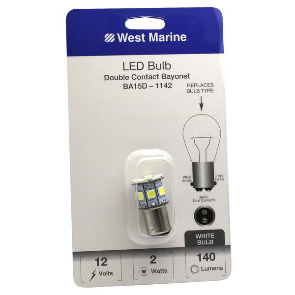 Double Contact Bayonet Ba15d 1142 Led Bulb