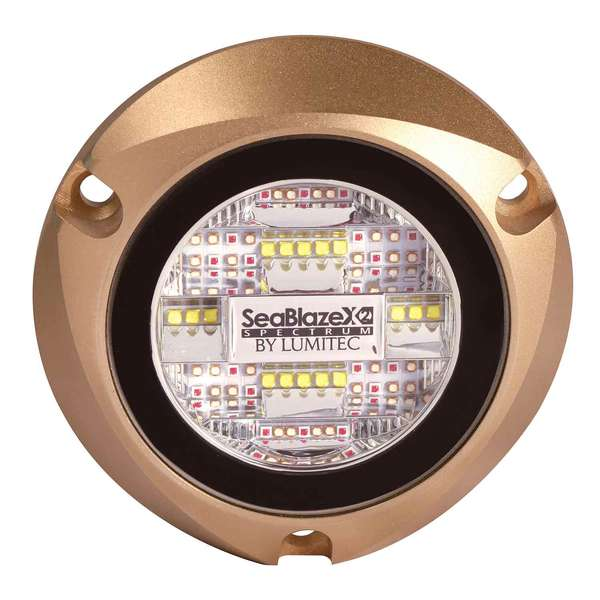 SeaBlazeX2 Underwater LED Light Spectrum Output