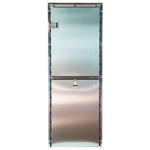 Cruise 260 Combi Refrigerator/Freezer, Stainless Steel
